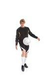 Un calciatore Fotografia Stock