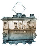 Un tram royalty illustrazione gratis