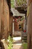 Un callejón del backstreet, China meridional Imagen de archivo