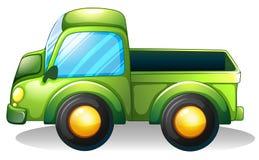Un camión verde Fotografía de archivo libre de regalías