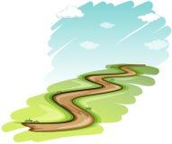 Un camino ilustración del vector
