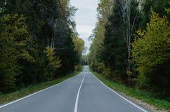 Un camino con la marca Fotos de archivo libres de regalías