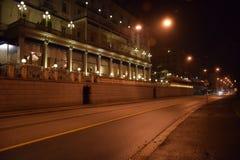 Un camino en Lugano, Suiza Fotos de archivo libres de regalías