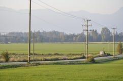 Un camino a través del país Imagen de archivo libre de regalías