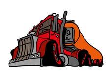 Un camion classico Immagine Stock