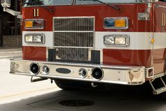 Un camion de pompiers images libres de droits