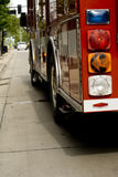 Un camion dei vigili del fuoco Fotografia Stock