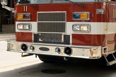 Un camion dei vigili del fuoco immagini stock libere da diritti
