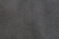 Un campione del panno di cuoio scuro per cucire Immagine Stock Libera da Diritti
