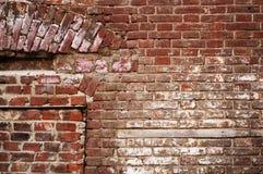 un campione della superficie della muratura Immagini Stock