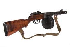 Un campione di Shpagina della pistola di Submachine di 1941 Immagini Stock