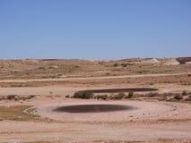 Un campo da golf australiano nell'entroterra Immagine Stock Libera da Diritti