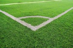 Un campo di football americano fotografia stock