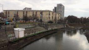 Un canal en Ucrania almacen de video