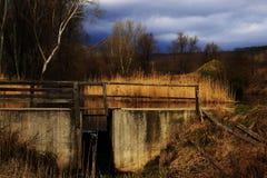 Un canale sotterraneo Fotografie Stock Libere da Diritti