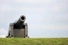 Un cannone da 32 libbre Fotografia Stock Libera da Diritti