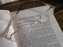 Un canto natalizio di natale Immagini Stock