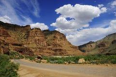 Un canyon da nove miglia fotografia stock
