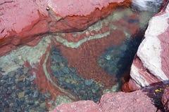 Un canyon incredibile al parco del waterton, alberta Fotografie Stock Libere da Diritti