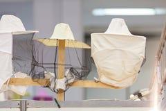 Un cappello protettivo per gli apicoltori fotografia stock libera da diritti