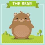Un carácter muy lindo del oso de Brown Foto de archivo libre de regalías