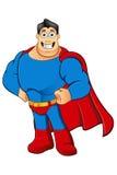 Un caractère de super héros de bande dessinée Image stock