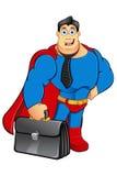 Un caractère de super héros de bande dessinée Photos libres de droits