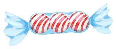 Un caramelo rojo Fotografía de archivo libre de regalías