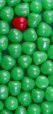 Un caramelo rojo imágenes de archivo libres de regalías