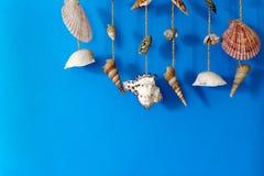 Un carillon di vento con le coperture Fotografie Stock Libere da Diritti