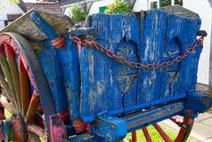 Un carretto di legno decomposto, Withersfield Cambridgeshire agosto 2012 immagini stock libere da diritti