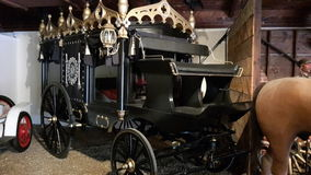 Un carro viejo Foto de archivo libre de regalías