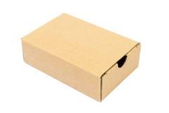 Un cartón marrón para empaquetar Imágenes de archivo libres de regalías