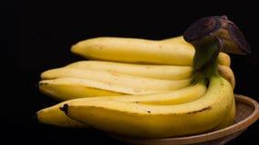 Un casco di banane Fotografie Stock