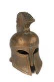 Un casco romano aislado Imagen de archivo libre de regalías