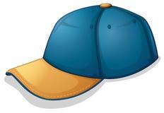 Un casquillo azul Fotografía de archivo