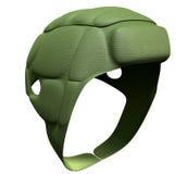 Perspectiva verde del casquillo del melé Fotos de archivo libres de regalías