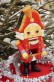 Un casse-noix 1 de Noël Photo libre de droits