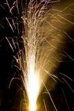 Un casseur brûle sur Diwali Images libres de droits