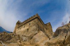 Un castello Fotografie Stock
