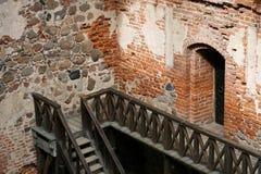 Un castello Fotografia Stock