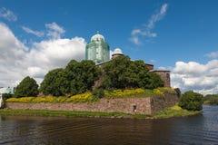 Un castello antico Immagine Stock