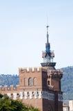 Un castello di tre draghi Immagine Stock