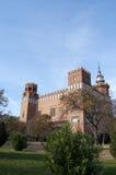 Un castello di tre draghi Fotografie Stock Libere da Diritti