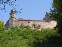 Un castello in Germania Fotografia Stock Libera da Diritti