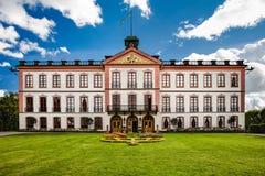 Un castello pubblico, Tullgarns Slott, Svezia Fotografia Stock