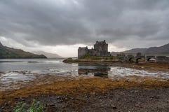 Un castello in Scozia Fotografia Stock Libera da Diritti