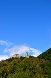 Un castello solo in Germania Fotografia Stock