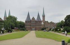 Un castillo alemán Foto de archivo libre de regalías
