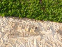 Un castillo de la arena Imagen de archivo libre de regalías